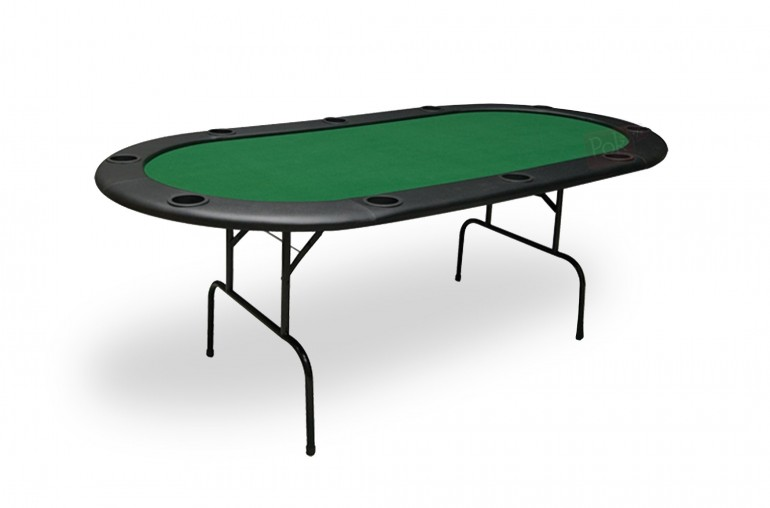 Table de poker 10 joueurs (vert)