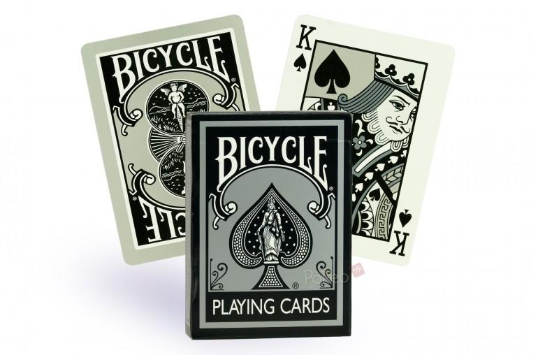 Cartes Bicycle Fashion Rider Back (Silver)