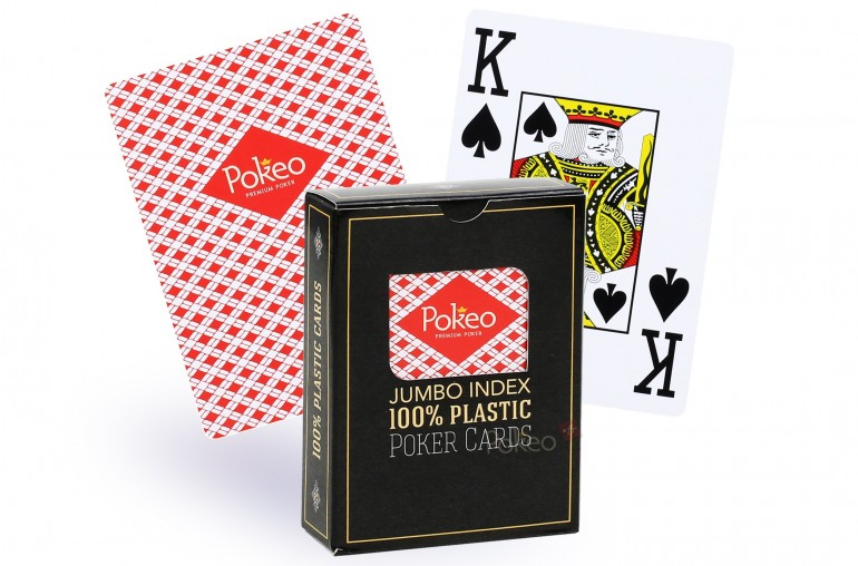 Pack de cartes 100% plastique x2