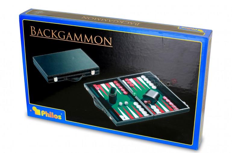 Backgammon Feutrine Verte 47cm