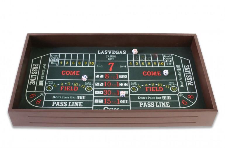Casino set 4 en 1 Roulette, Black Jack, Craps, Texas Hold'em