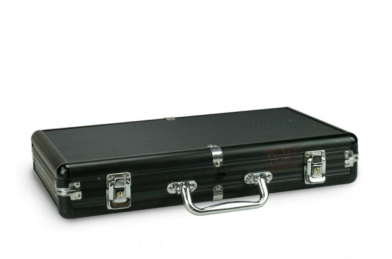 Pack Poker Premium 300 jetons + Tapis noir