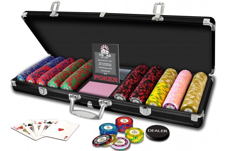 Mallette Poker Liberty 500 jetons