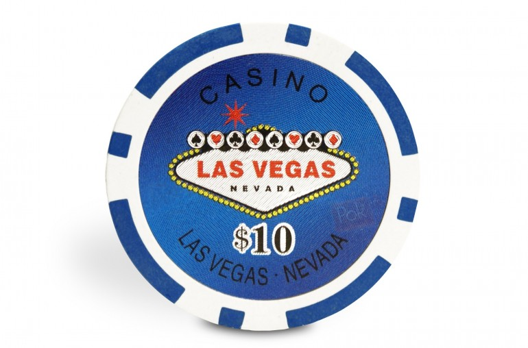 Pack Las Vegas 500 jetons + Table Top bleu