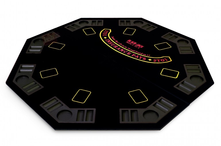 Pack Laser Deluxe 300 jetons + Table Top noir