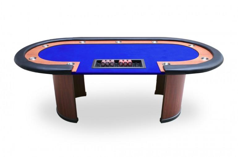 Table Nevada 4 Dealer (bleu)