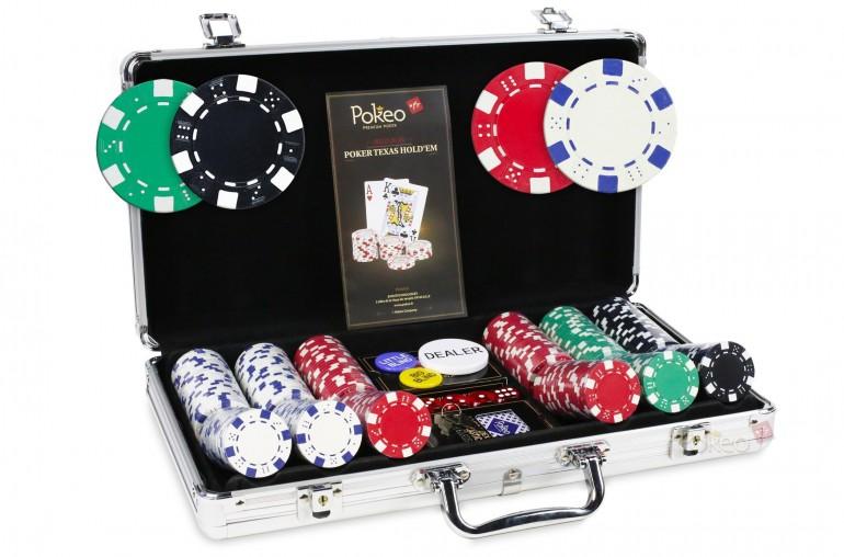 Pack Dice Premium 300 jetons + Table Top noir