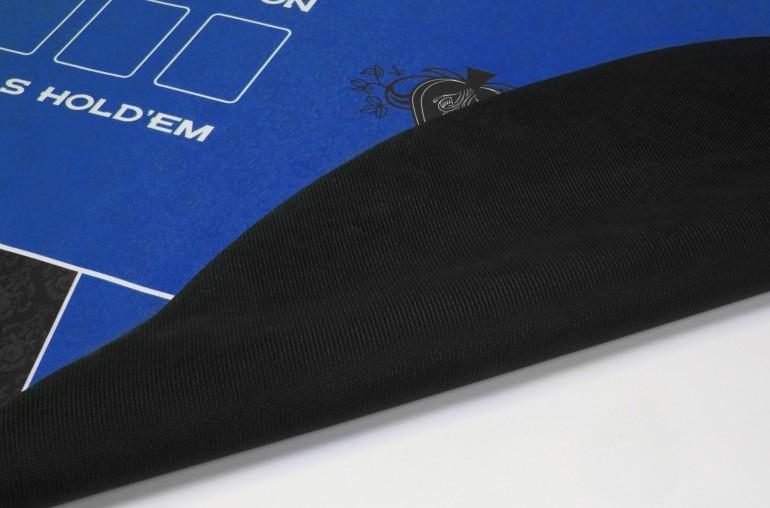 Tapis de Poker 180x90 Spade Bleu
