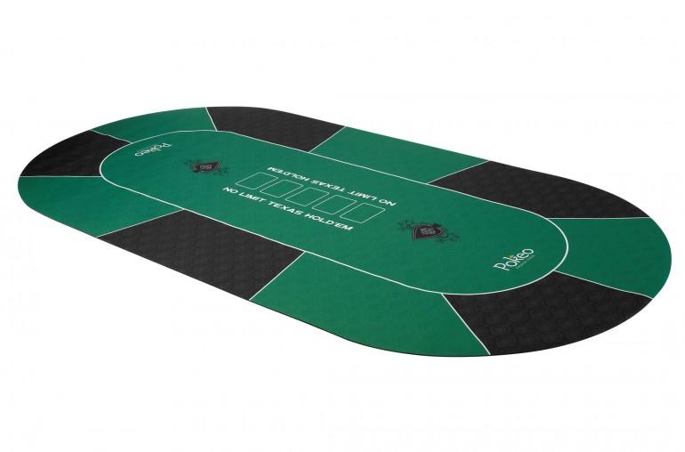 Tapis de Poker 180x90 Spade Vert