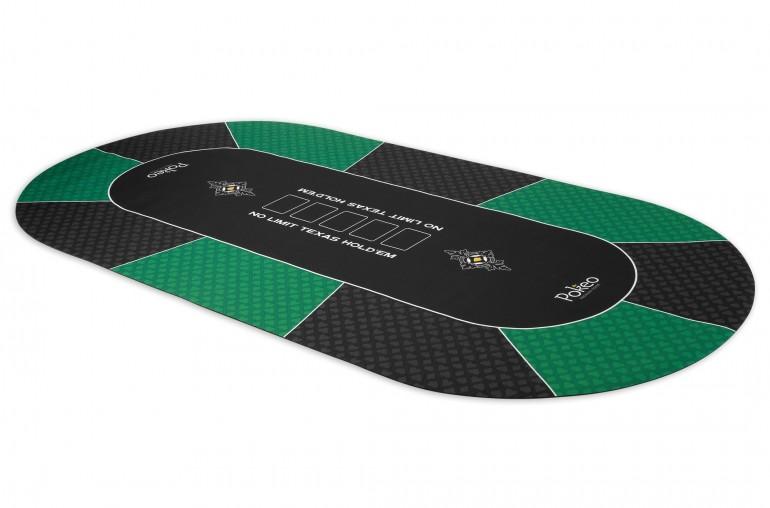 Tapis de Poker 180x90 Pokeo Deluxe Vert